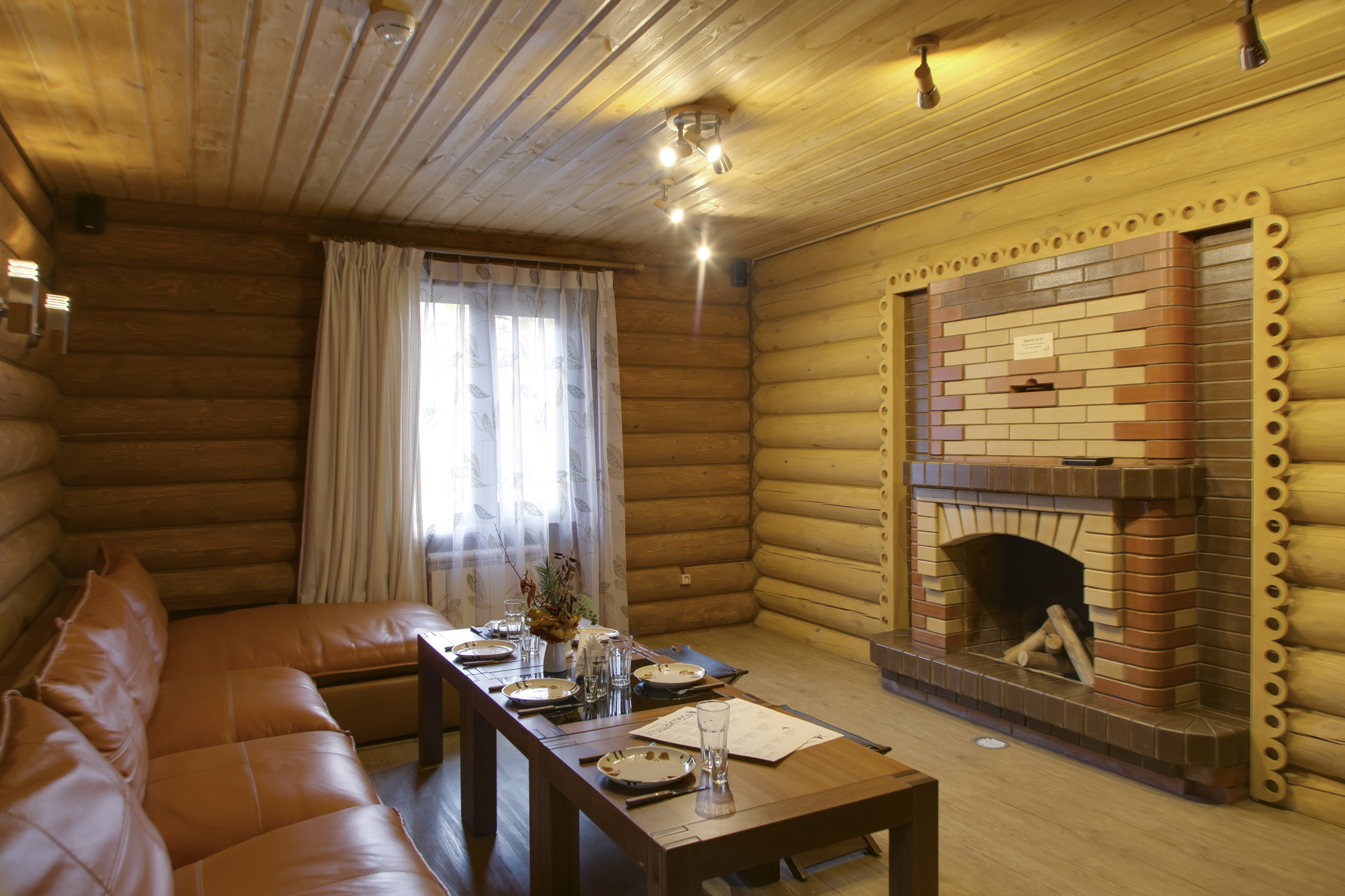 Дизайн комнаты отдыха бани